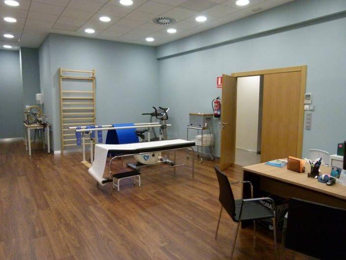 Gimnasio y zona de rehabilitación