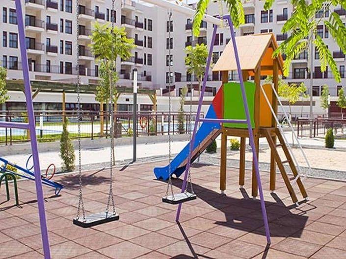 Mobiliario parque infantil