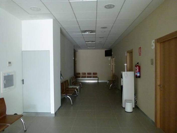 Zona de espera en primera planta