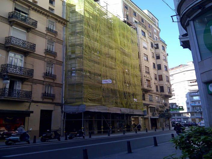 restauraci n de fachada edificio en valencia barrio