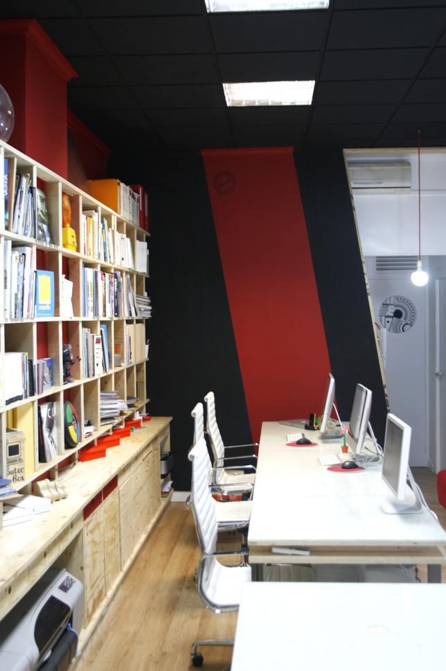 Reforma de estudio de arquitectura 2e 1l valencia for Estudio arquitectura valencia