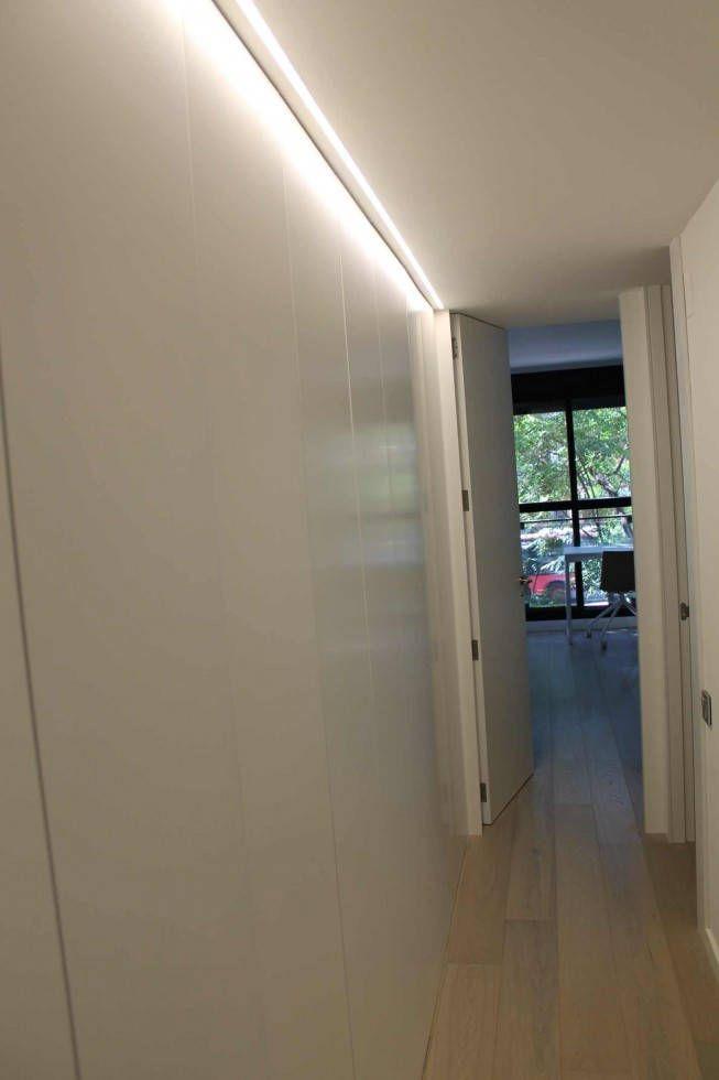 Reforma vivienda en valencia - Iluminacion de pasillos ...