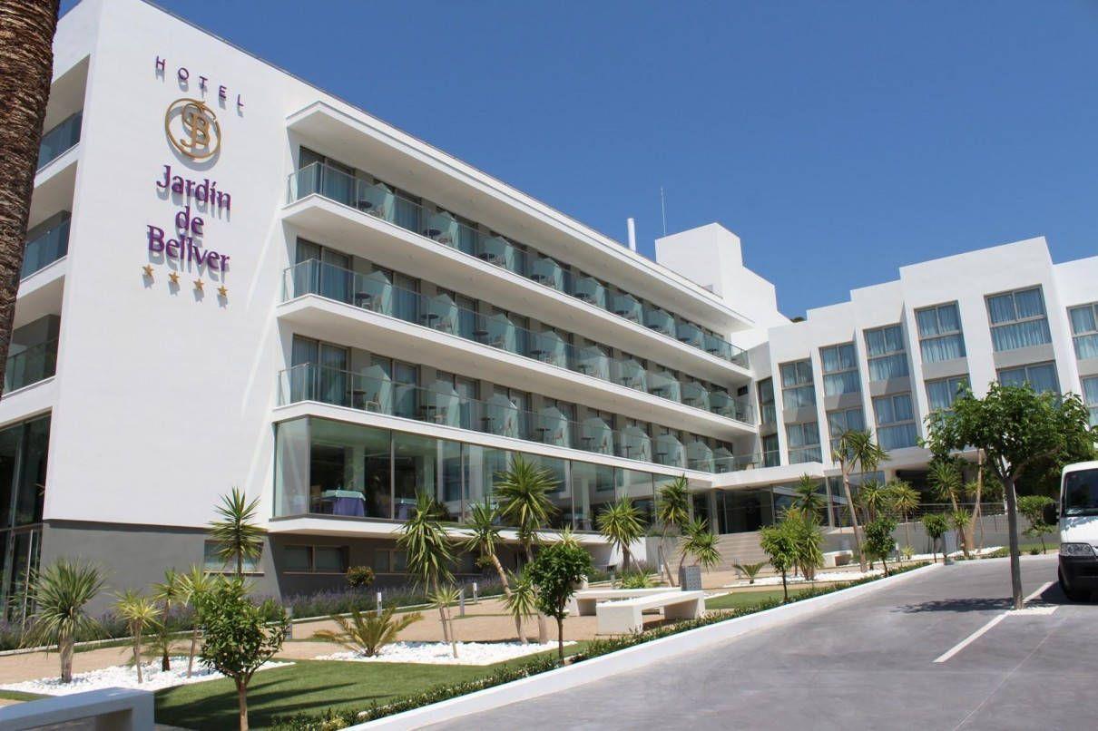 Vista general del hotel espacios y proyectos - Hotel jardin bellver ...