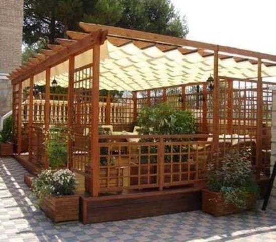 Tipos de p rgolas espacios y proyectos - Construir una pergola de madera ...