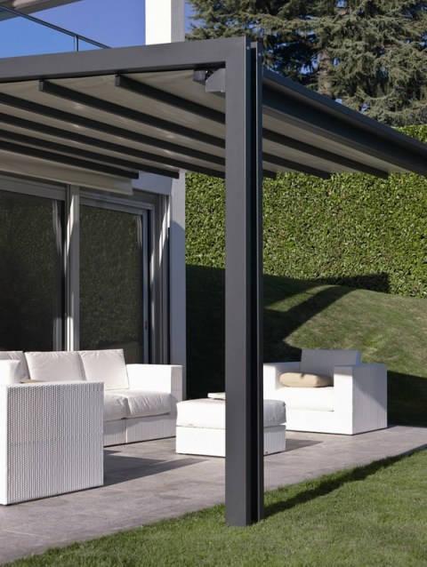 Tipos de p rgolas espacios y proyectos for Pergolas de hierro para jardin