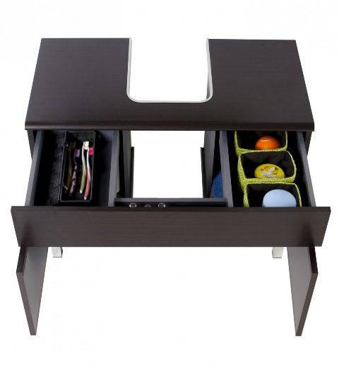 Muebles de ba o espacios y proyectos - Mueble para lavabo con pedestal ...
