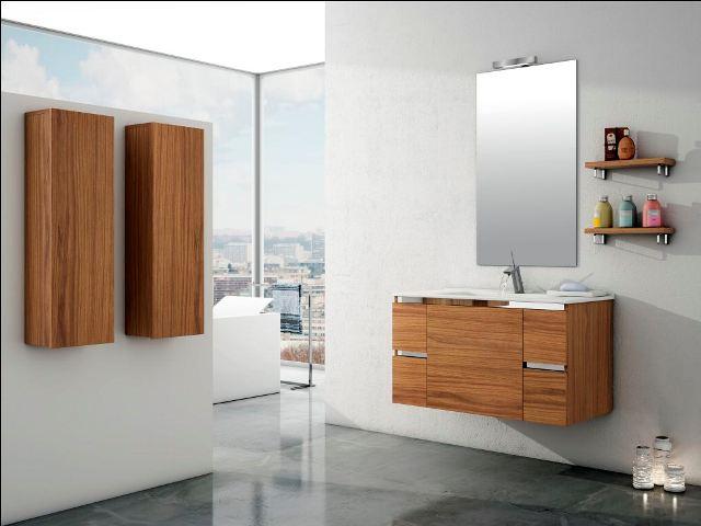 Muebles de ba o espacios y proyectos for Muebles para lavabos suspendidos