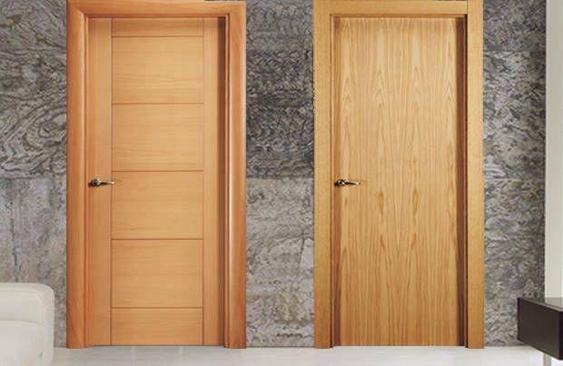 Puertas madera espacios y proyectos for Puertas en madera para interiores