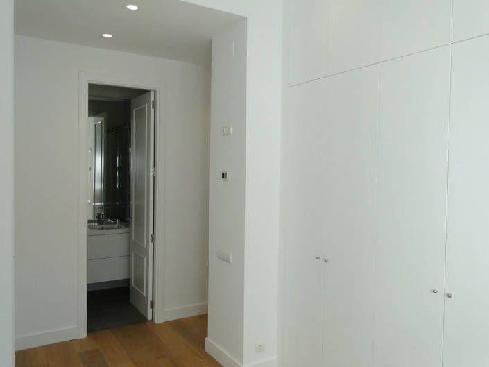 armario hasta techo lacado blanco