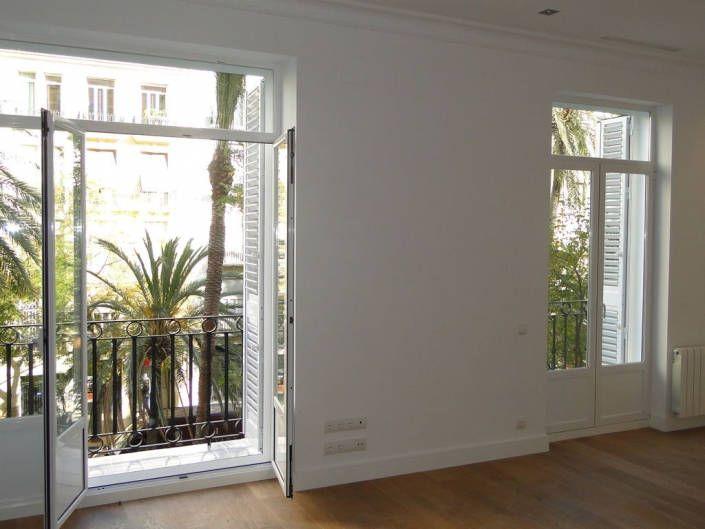 carpinteria aluminio blanca balconera