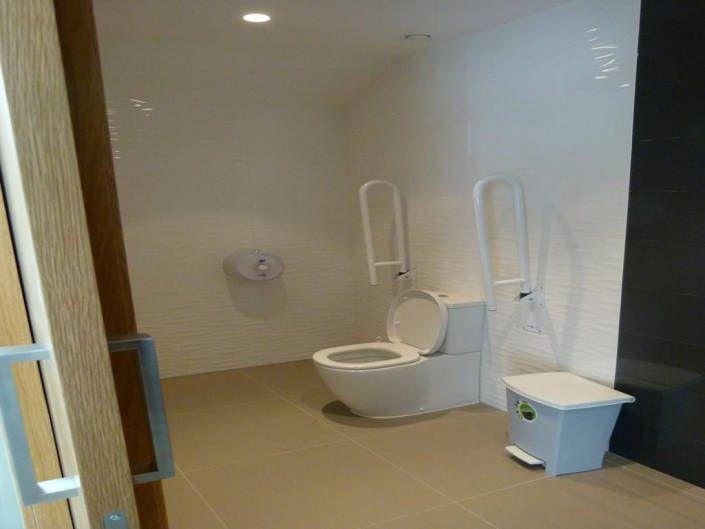 Equipamiento baño movilidad reducida