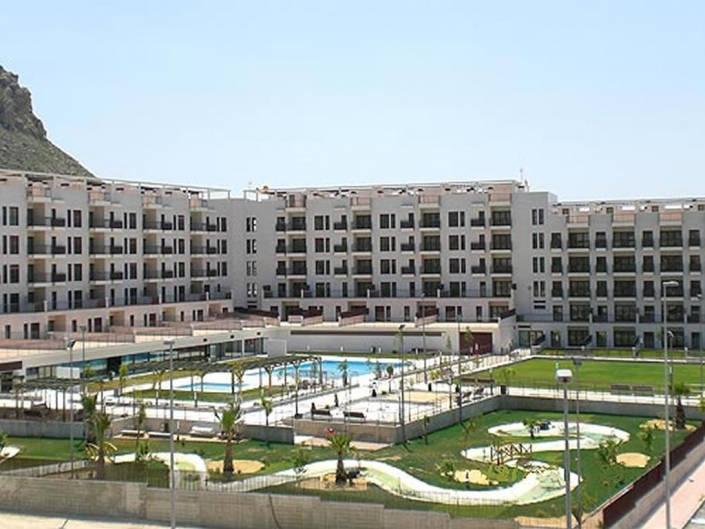 Vista general del complejo residencial