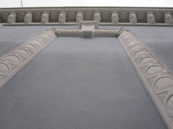 moldura fachada
