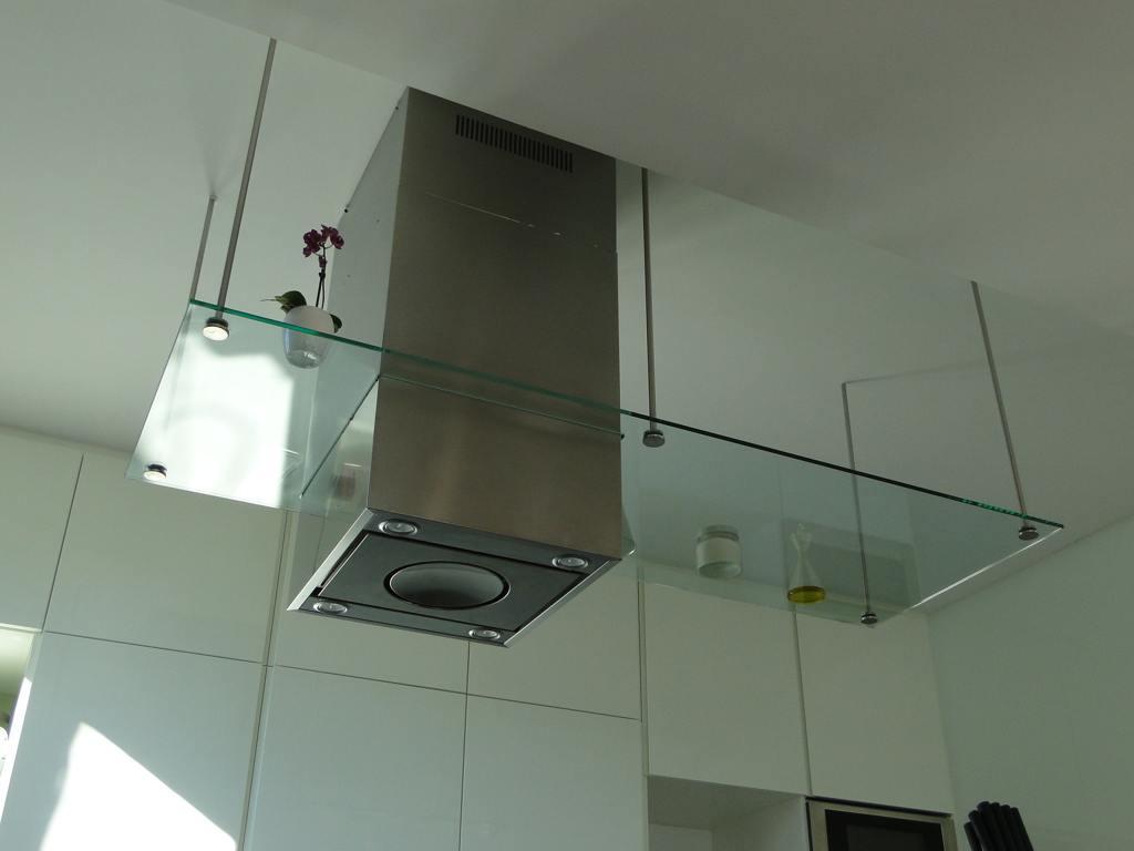 Tipos de campana de cocina espacios y proyectos - Extractor humos cocina ...